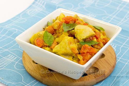 咖哩番茄雞  Curry Chicken and Tomato02