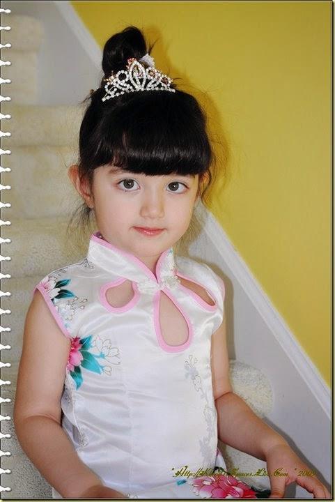 Nicole Brodsky anak kecil tercantik di dunia