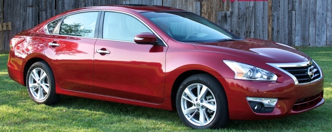 2013 Nissan Altima Heads To Showrooms With 38 Hwy. MPG