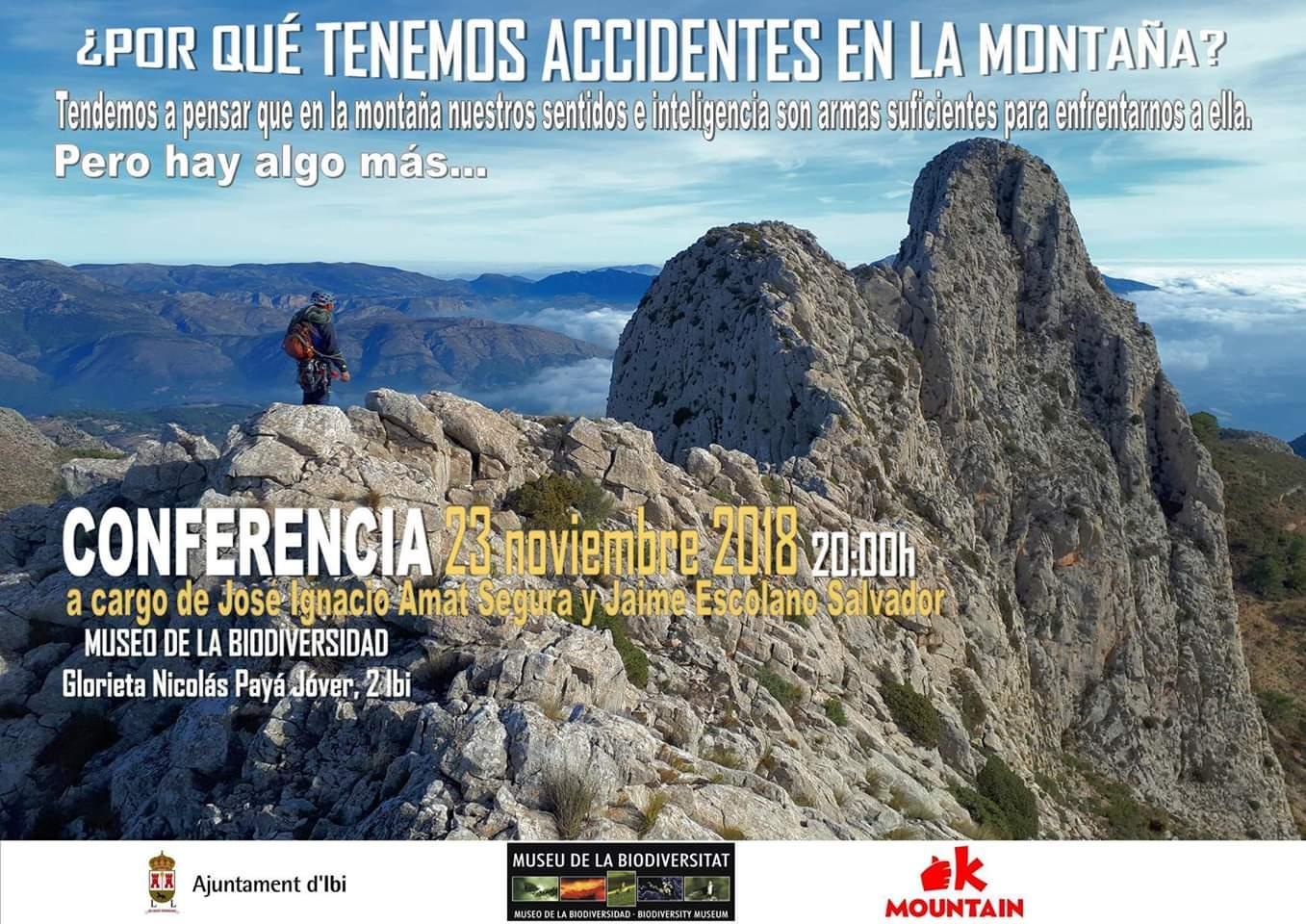 Conferencia ¿Por qué tenemos accidentes en la montaña?