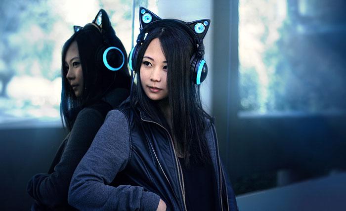 Auriculares Gato por Axent Wear