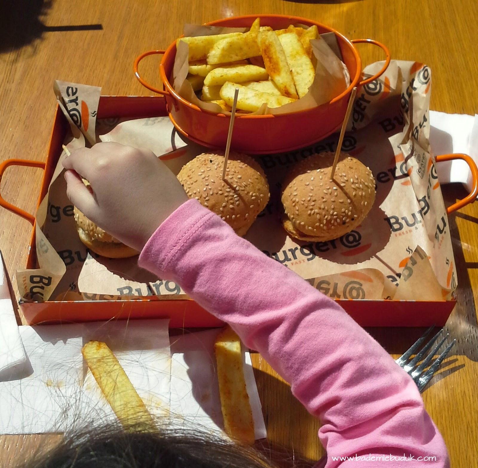 burger et hamburger