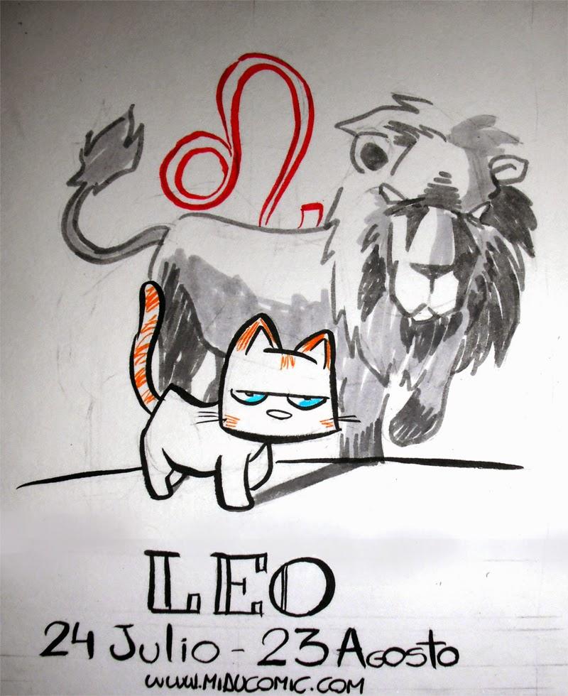 Zodiaco Gatuno signo de Leo