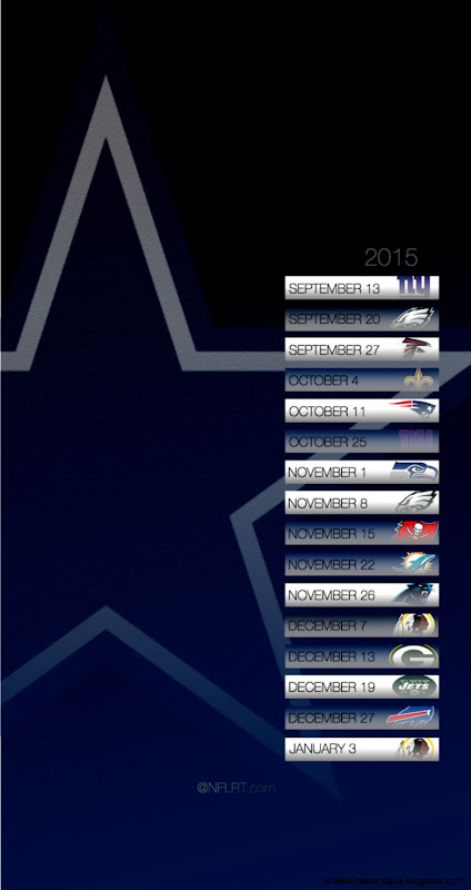 2015 NFL Schedule Wallpapers   Page 2 of 8   NFLRT