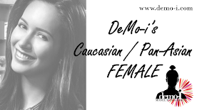DeMo-i's Caucasian/Pan-Asian Female Models