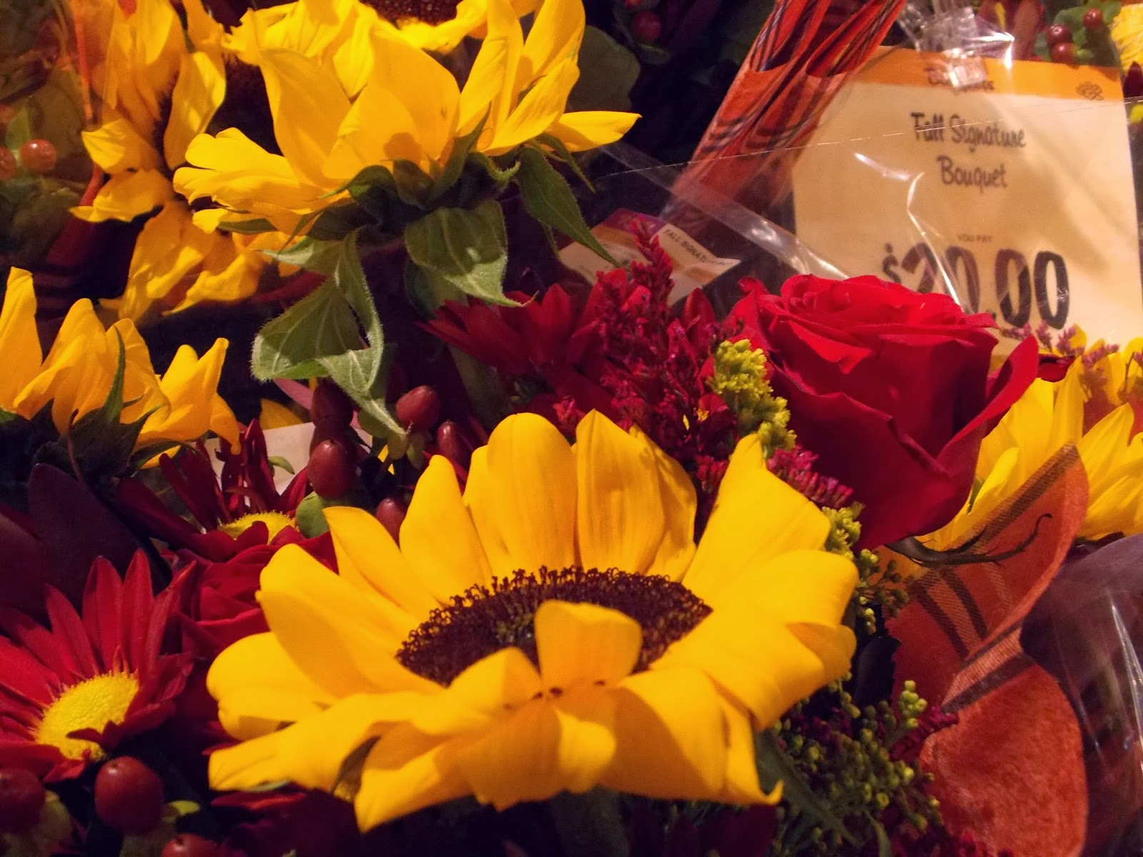 Sunflowers and roses elegantly comprise the famous Wegmans Fall Signature  Bouquet, selling for  22.00 on Sunday, Oct. 13. The Fall Signature Bouquet  is one ... 75d303c1e135