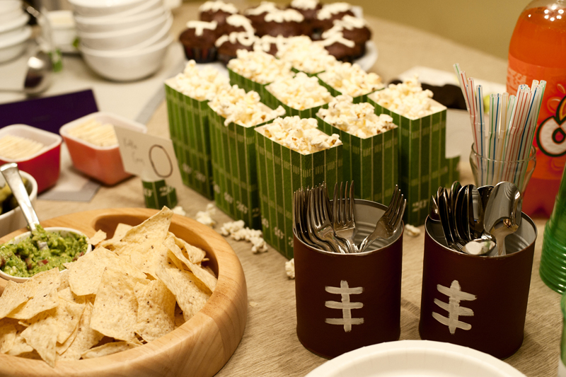 Rust sunshine super bowl party for Super bowl party items