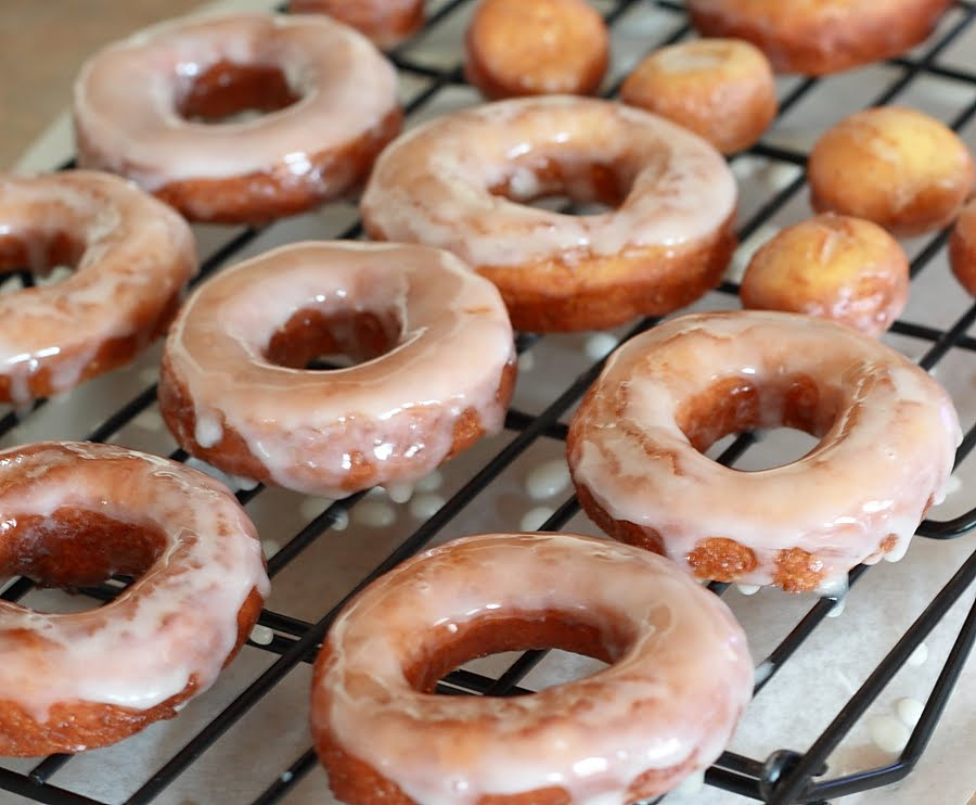 Lemon Drop: Gluten-Free Raised Donuts with Honey Glaze