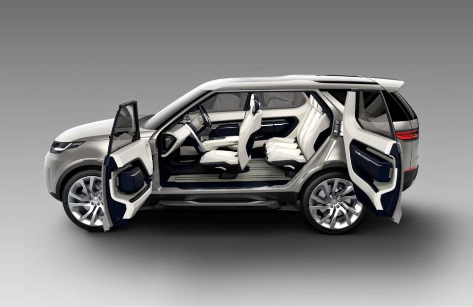 2015 New Land Rover Discovery Vision Concept Official