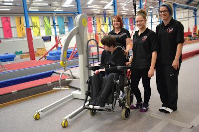 Basingstoke Gymnastics Club - Trampoline Hoist