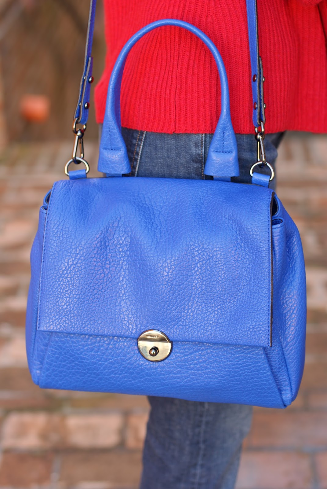 Milly Wythe satchel bag on Fashion and Cookies fashion blog, fashion blogger style