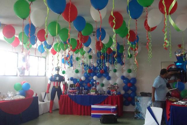 Decoraciones a tu gusto fiesta de los vengadores - Decoracion fiesta cumpleanos ...