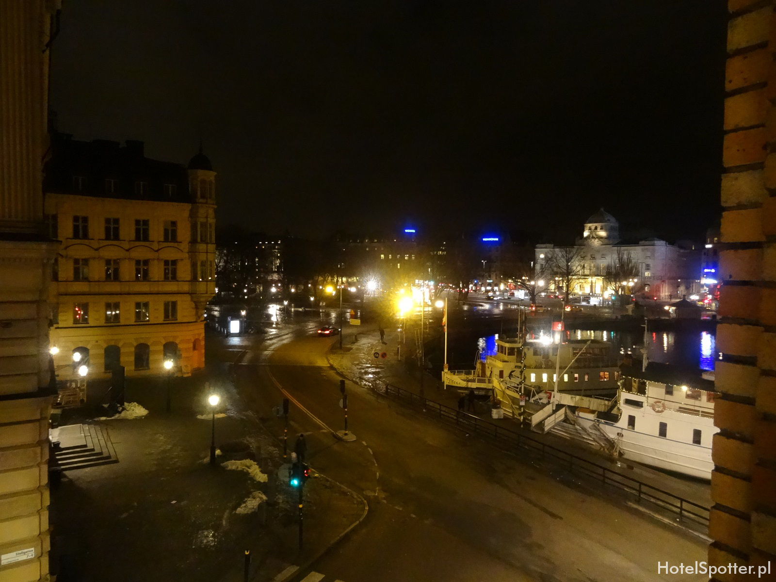 Radisson Blu Strand Hotel, Stockholm - widok z okna