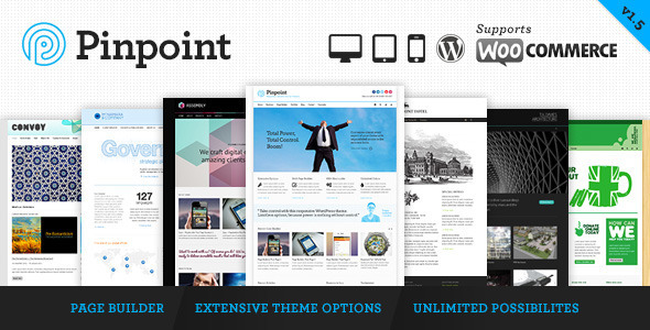 ThemeForest - Pinpoint - Responsive Multi-Purpose WP Theme