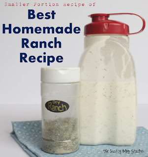 homemade dressing