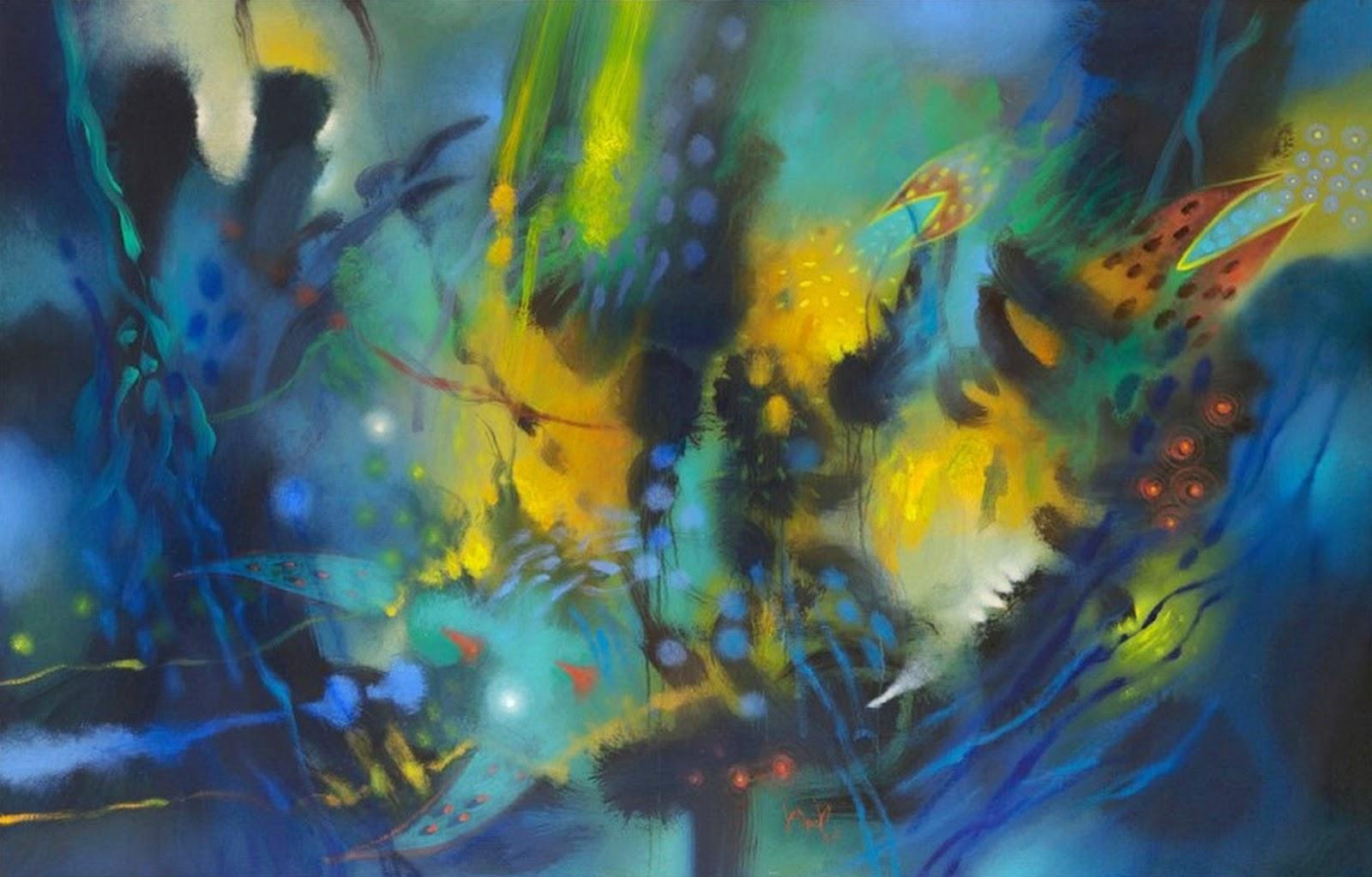 Pintura moderna y fotograf a art stica pinturas for Imagenes de cuadros abstractos faciles