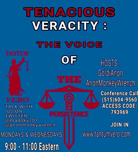 TENACIOUS VERACITY (TANTUMVERO)