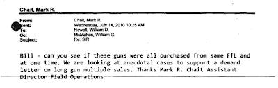 Gunwalker Email