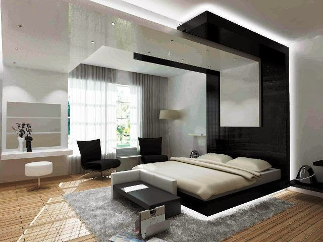 contemporary bedroom painting ideas