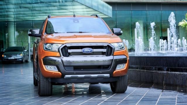 Ford Ranger đánh bại các dòng xe bán chạy của Toyota