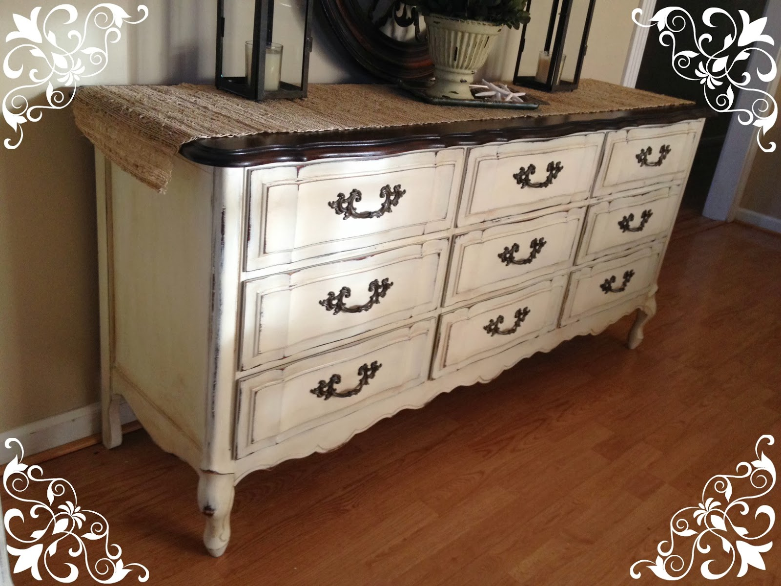 Annie Sloan Chalk Paint Distress Before Or After Wax