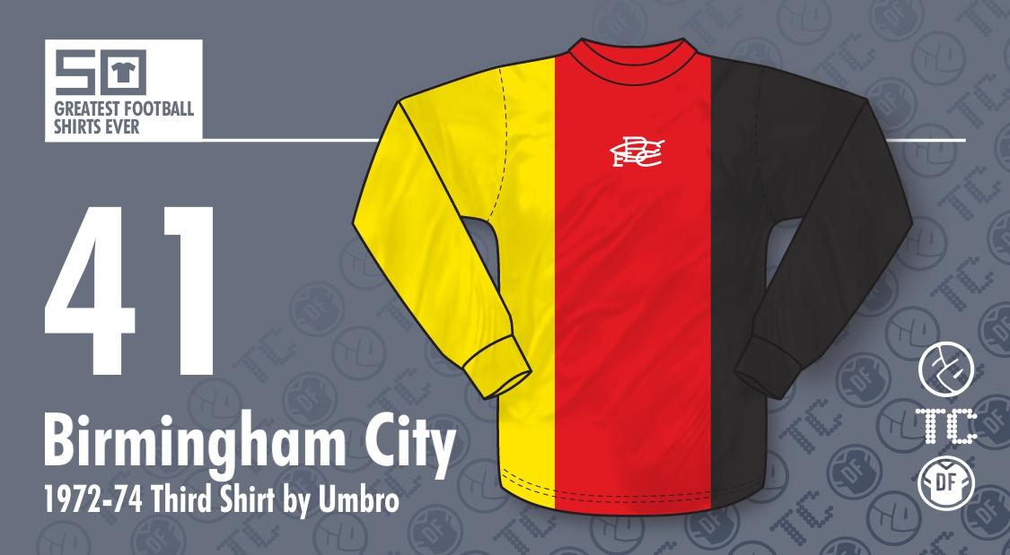c3bf6809195 50GFSE   41 - Birmingham City 1972-74 Third Shirt by Umbro ~ The ...