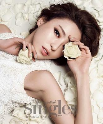 Lee Da Hee - Singles Magazine January Issue 2014
