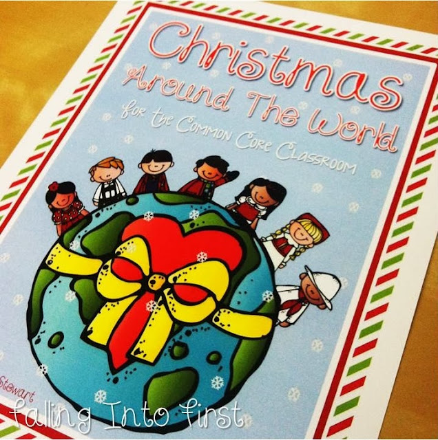 Falling into first christmas around the world