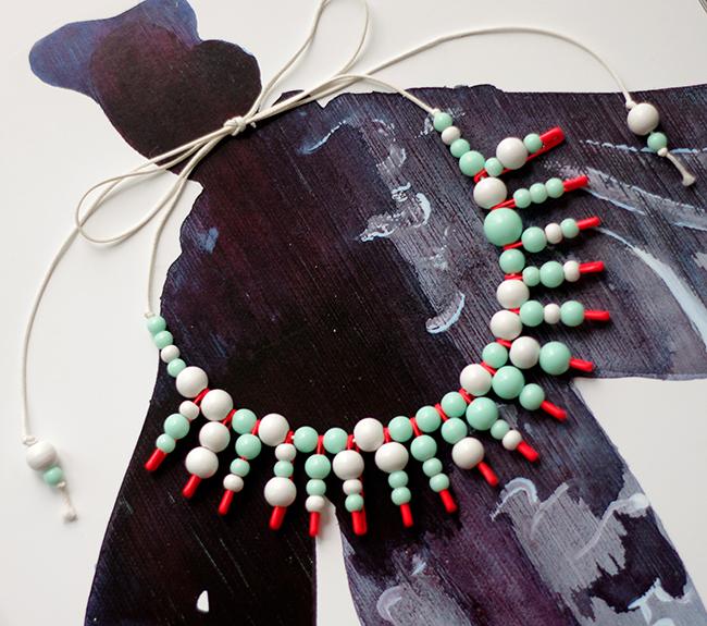 Diy Beads: DIY Beaded Statement Necklace