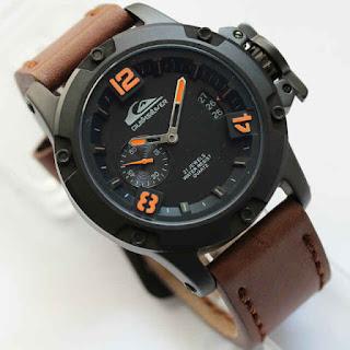 Quiksilver 6295 Dark Brown List Orange