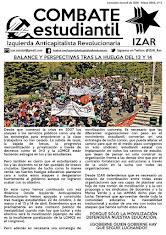 COMBATE ESTUDIANTIL DE IZAR (Mayo) 2016)