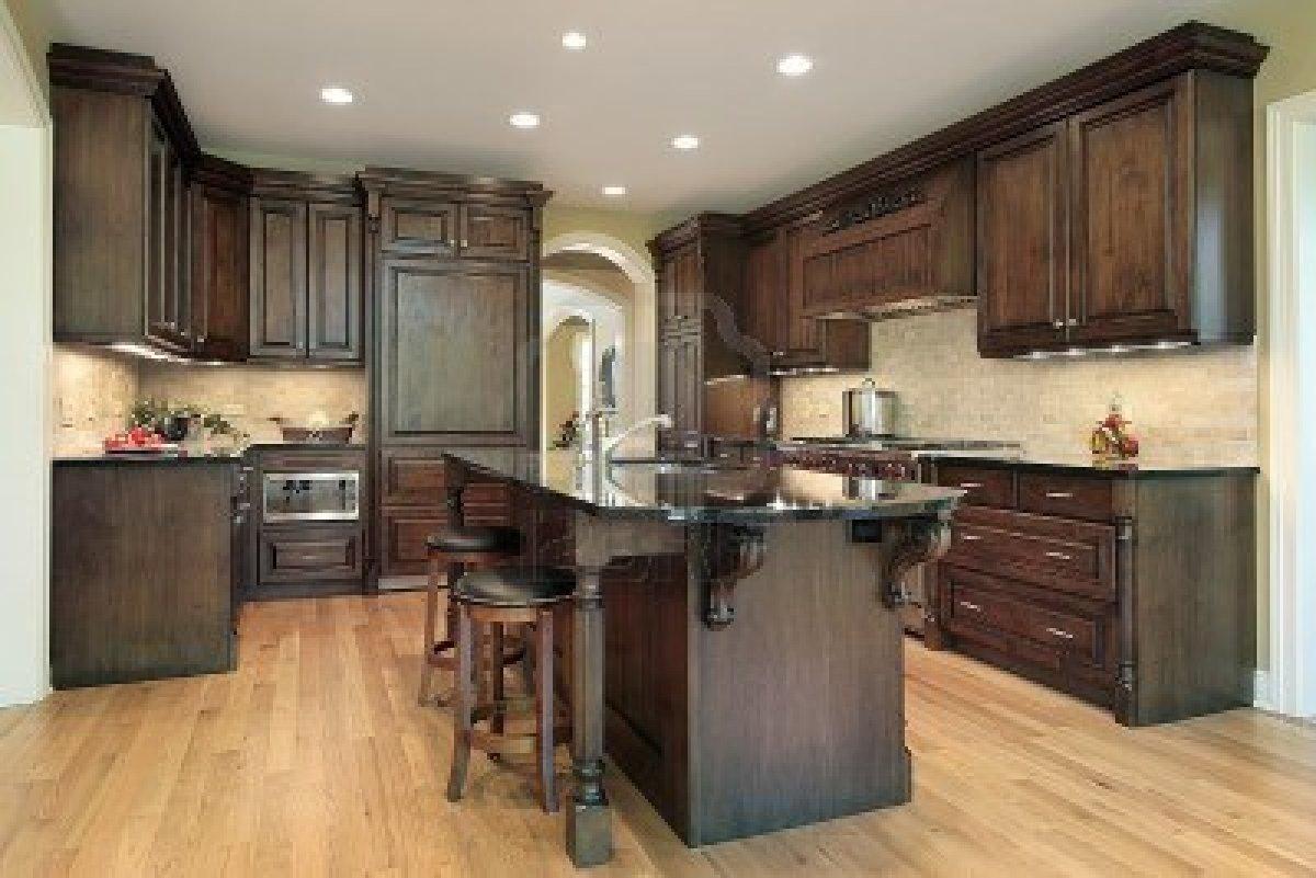 Colores de la pared de la cocina en pinterest gabinetes for Ideas de gabinetes de cocina