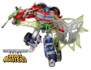 Hasbro Transformers Prime Beast Hunters Optimus Prime