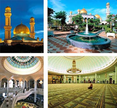 Masjid Berkubah Emas1 7 Masjid Berkubah Emas Di Dunia