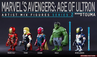Marvel's Avengers Age of Ultron Artist Mix Figures Series 2 by Touma & Hot Toys