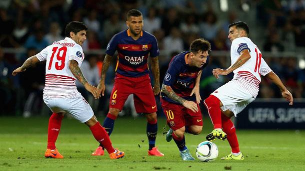 Luis Enrique hará rotaciones contra el Sevilla