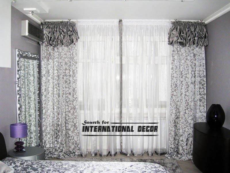 Top ideas for bedroom curtains and window treatments for Grey bedroom window treatments