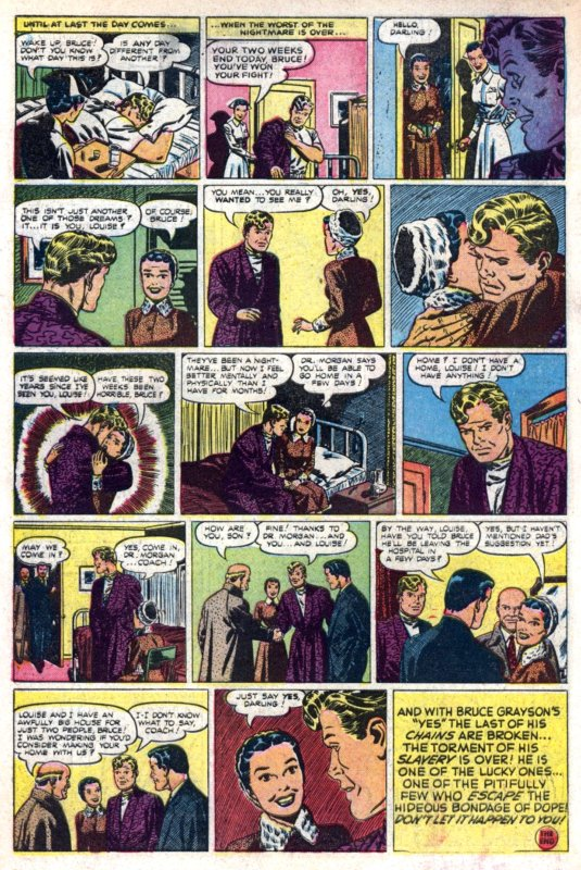 This story, which appeared in Harvey Comics Library #1 (1952), ...