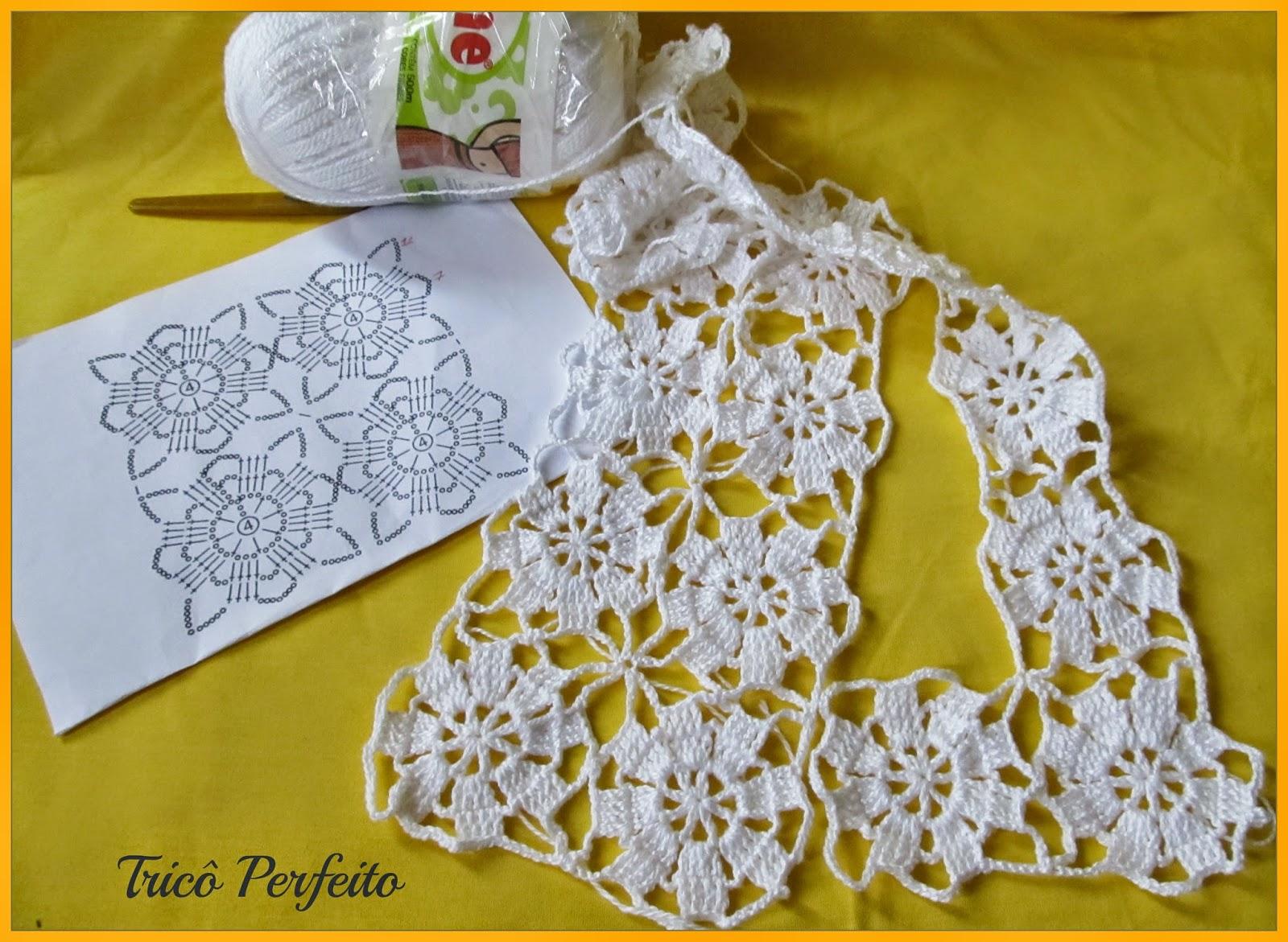 Motivo de crochet, fácil e rápido