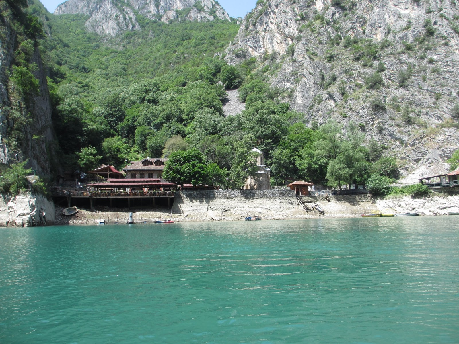 matka canyon how to get there