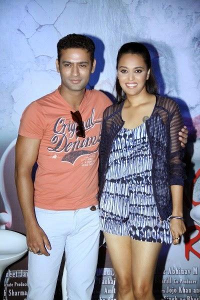 Bhanu Uday and Swara Bhaskar