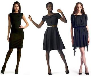 modelos de vestidos pretos