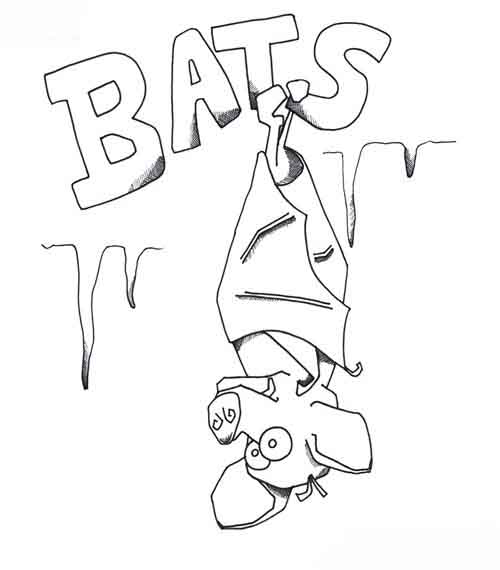 Bat Coloring Pages To Print