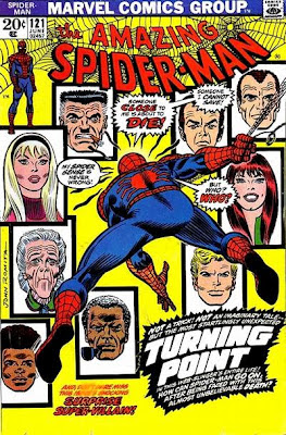 Amazing Spider-Man #121, the death of Gwen Stacy, cover