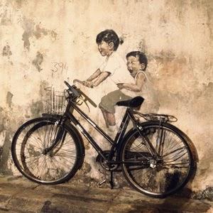 Georgetown Street Art, Malaysia