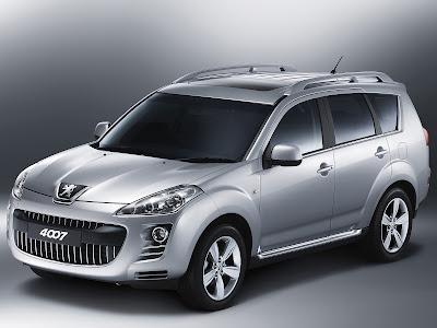 Peugeot 4007 car gallery