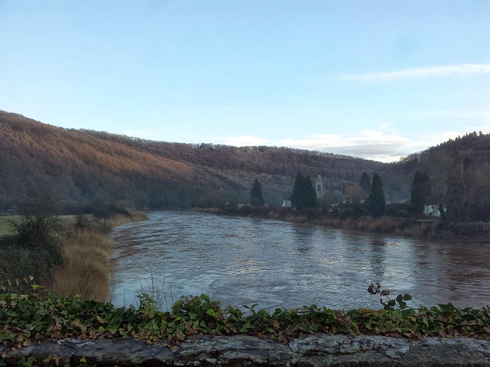 River Wye at dusk