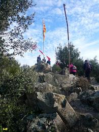A dalt del Turó de la Bandera. Autor: Erill
