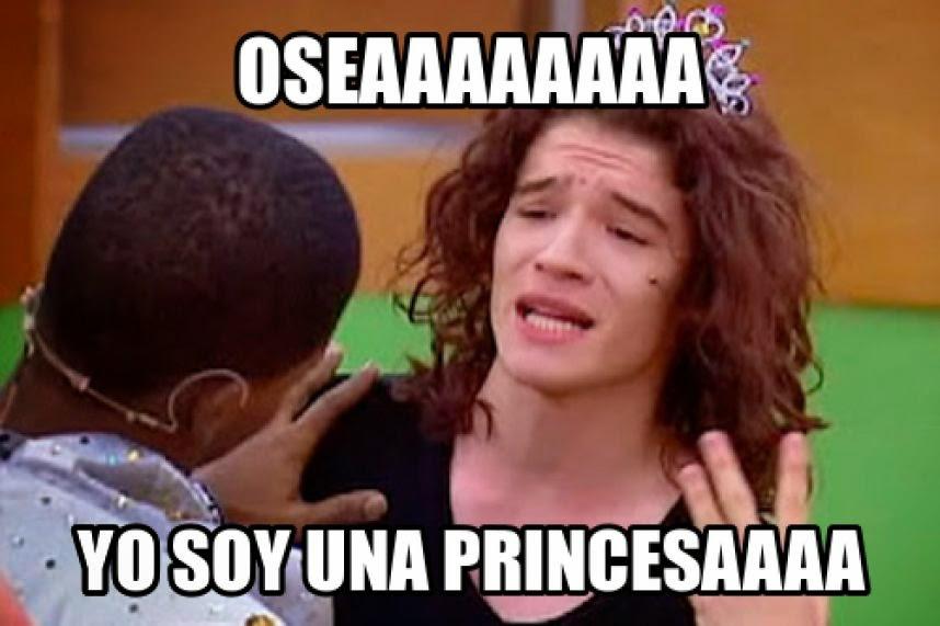 oseaaaaa, yo soy una princesa