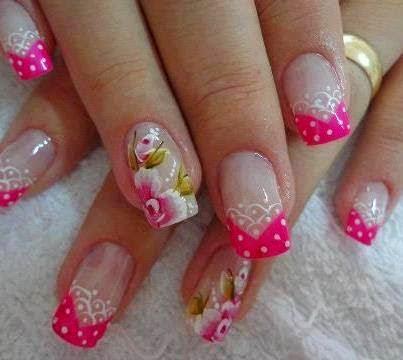 Imagenes de uñas decoradas, diseños y estilos de uñas. Decorado precioso